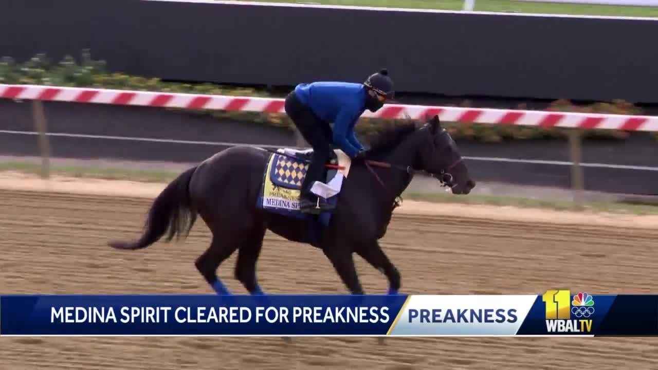 Medina Spirit cleared to run in Preakness 146