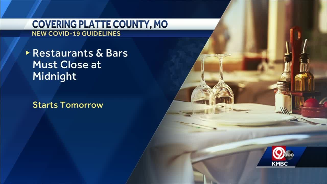 Platte County amends health order allowing restaurants, bars remain open until 12 a.m.