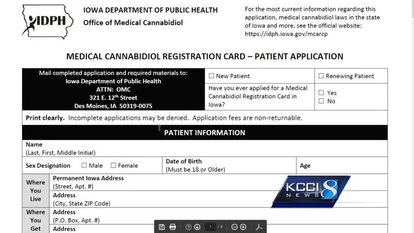 Registration Begins For Medical Marijuana Patients In Iowa
