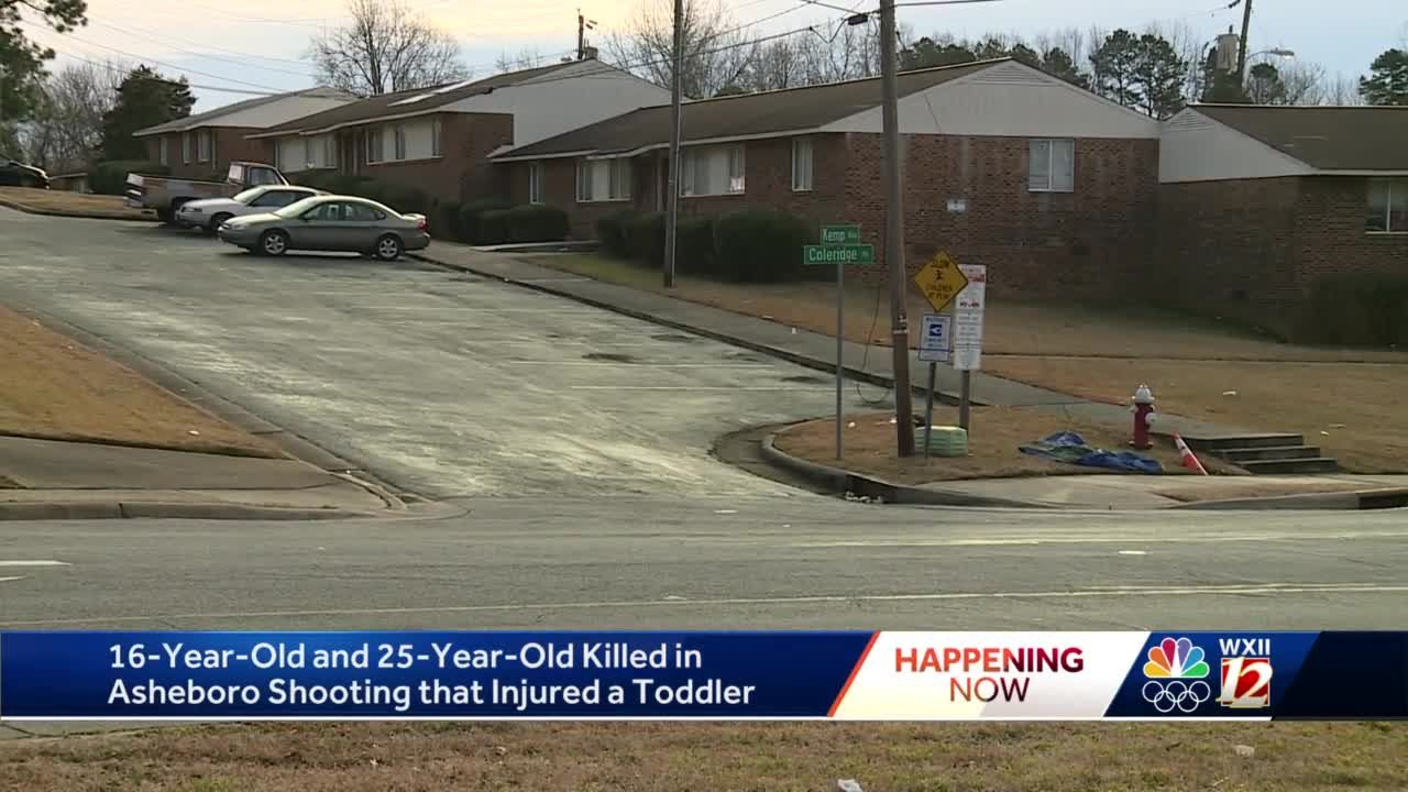 Asheboro police: 2 killed in shooting were the 'intended targets' of crime, injured toddler stable