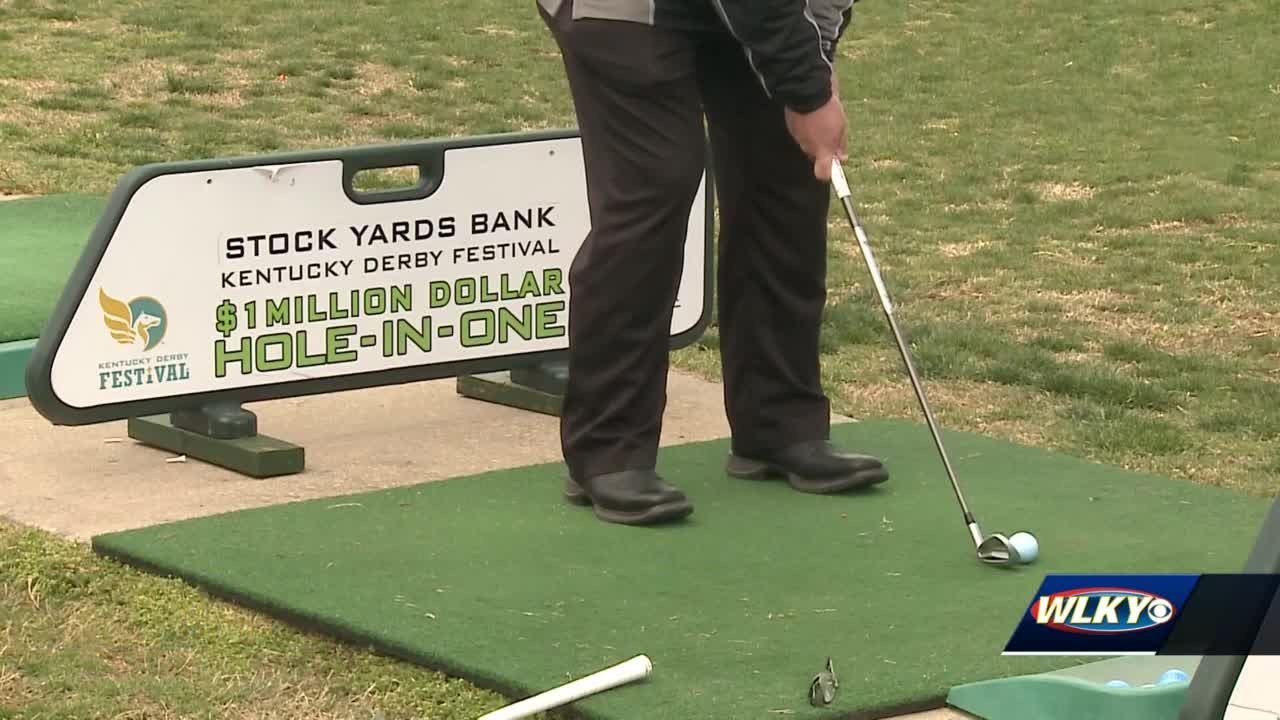 KDF's annual hole-in-one competition is back giving golfers a chance to win $1,000,000