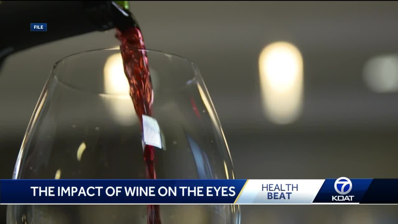 The impact of wine on your eyes
