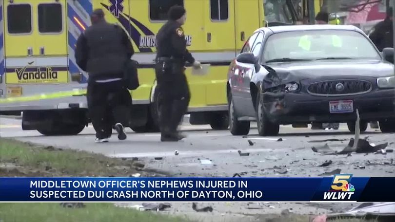 Nephews of Middletown officer hurt in DUI wreck