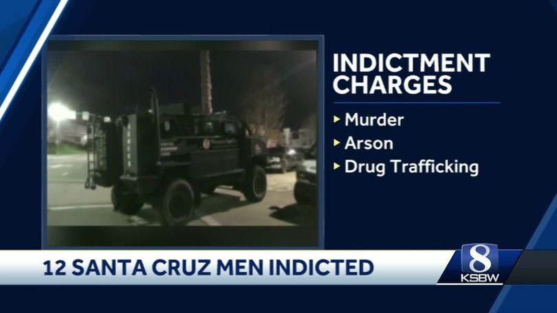12 Santa Cruz men suspected of being in violent MS-13 gang