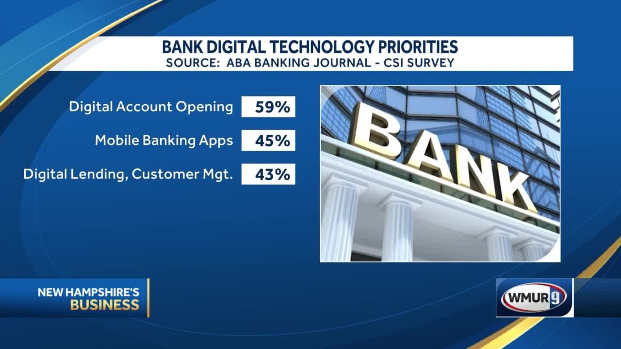 Banks: Fewer branches, more digital, cybersecurity threats top priority