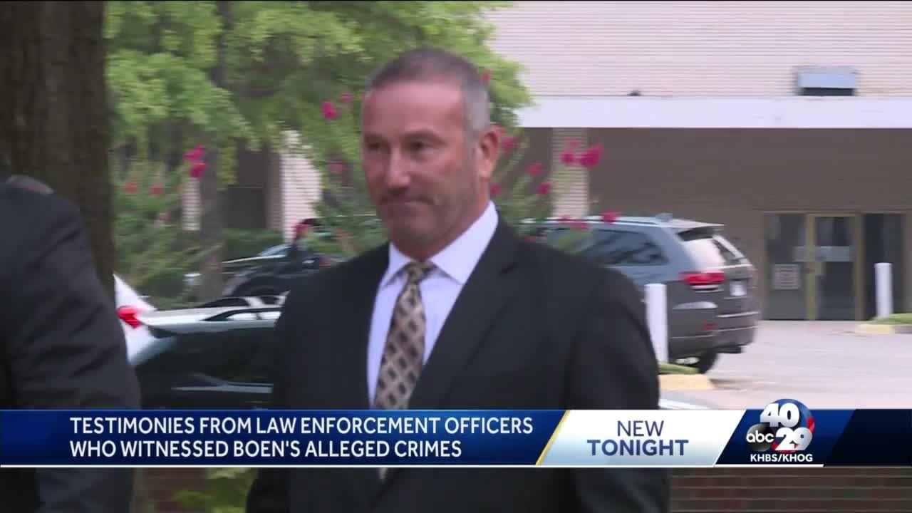 Witness testifies that Sheriff Boen hit man, pressured former deputy to file false report