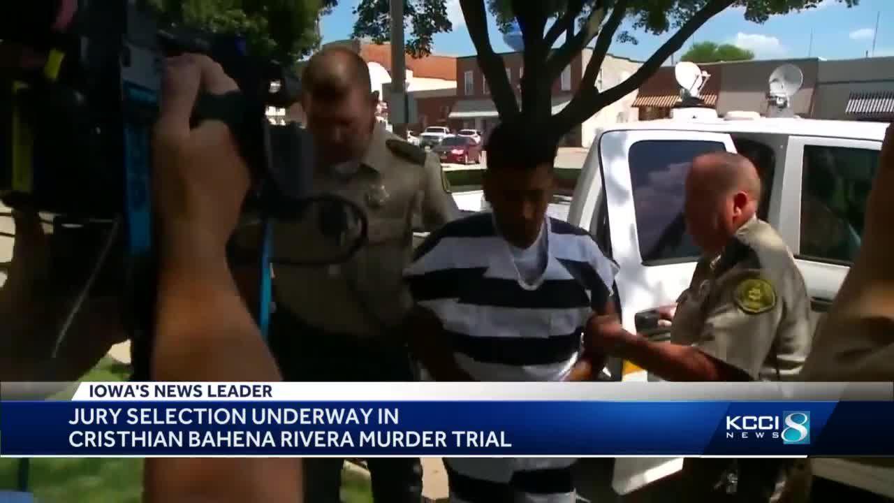 Cristhian Bahena Rivera trial jury selection underway