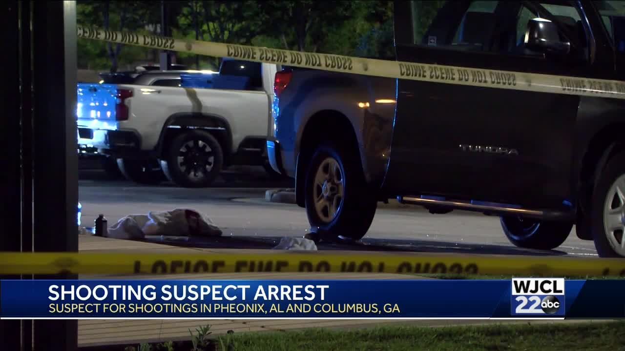 Columbus man arrested for two shootings