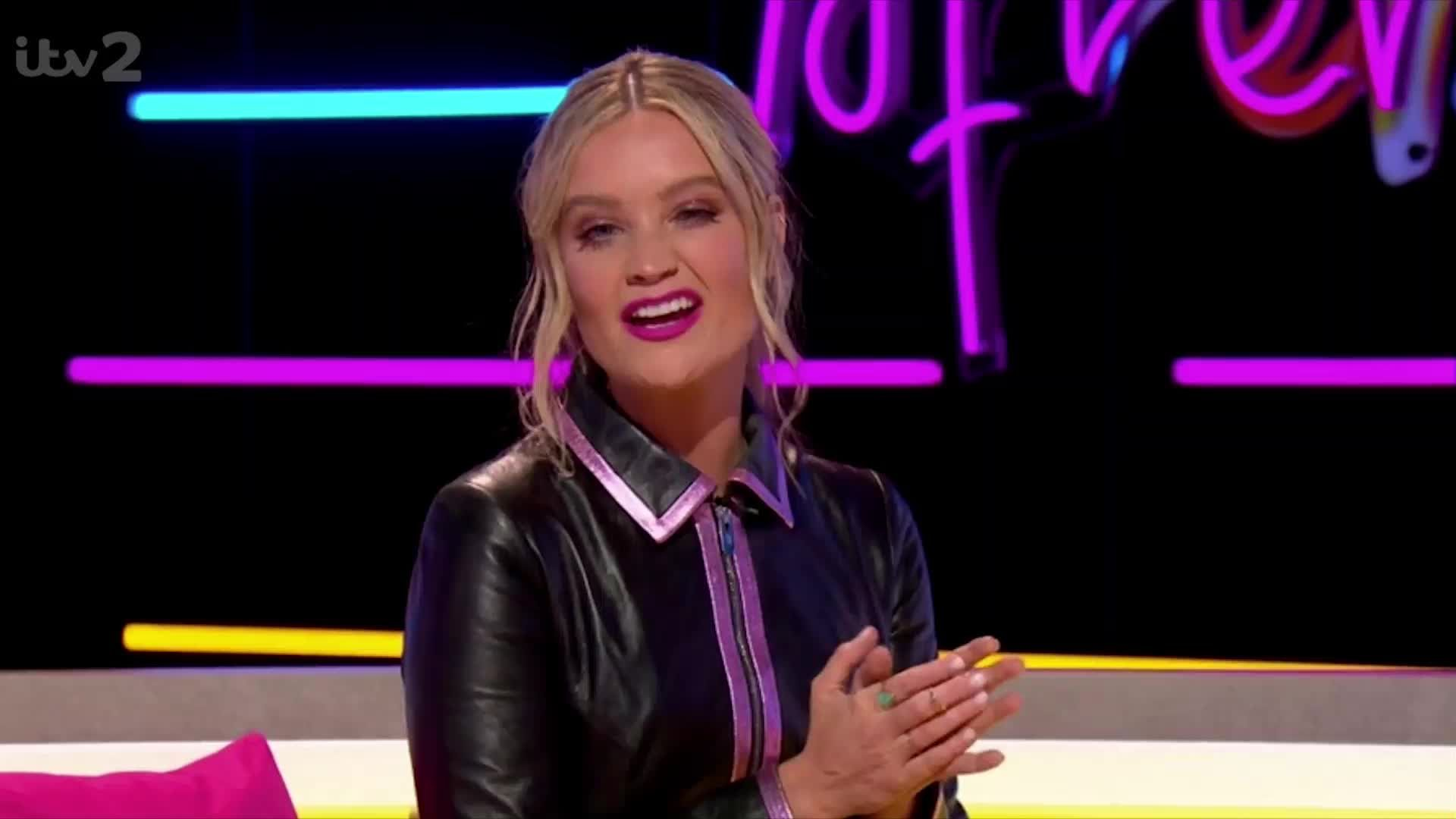 Love Island's Laura Whitmore addresses speculation she's Masked Singer's Octopus