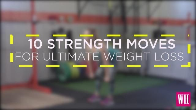 10 Strength Moves That'll Help You Reach Your Ultimate Weight-Loss Goals