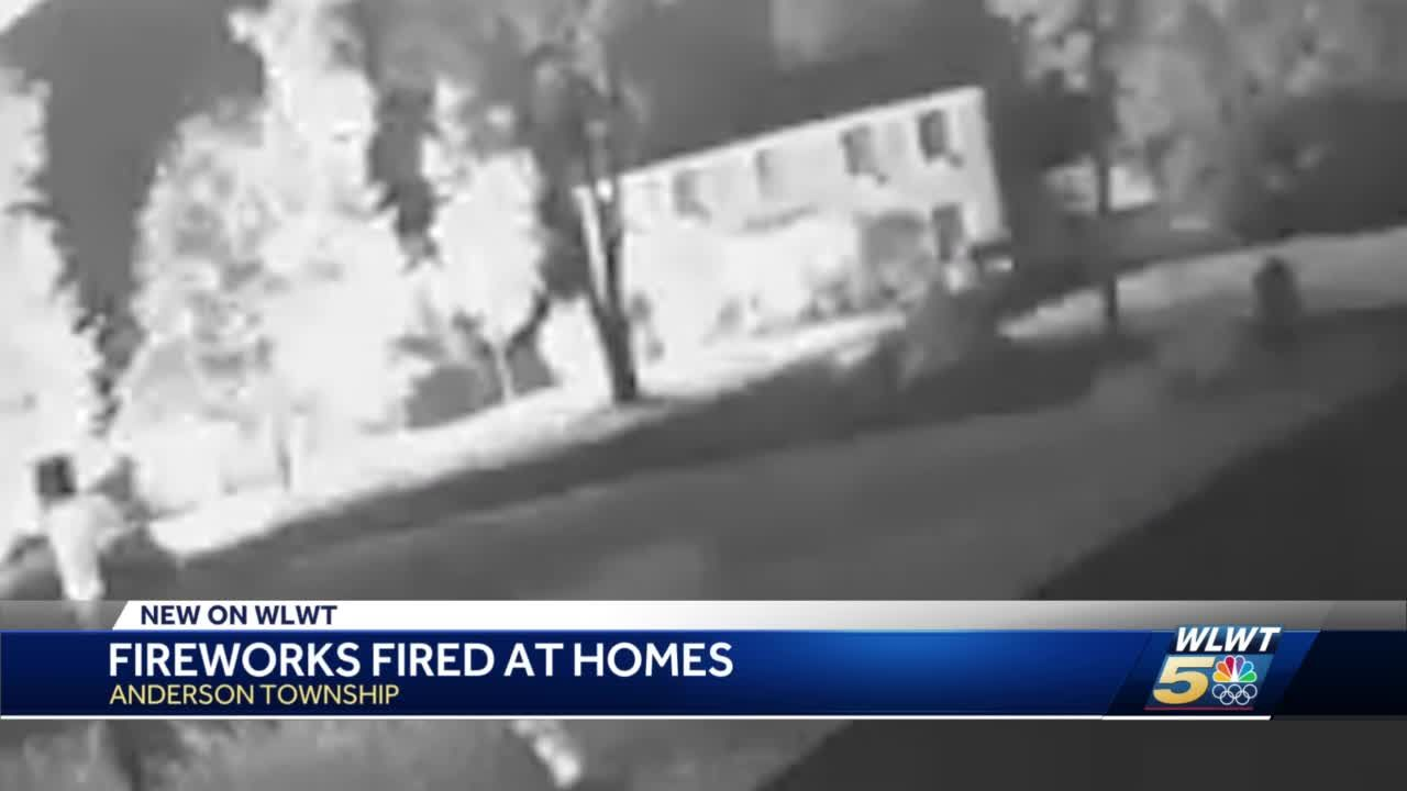 Police investigating after fireworks reportedly shot at multiple homes in Anderson Township