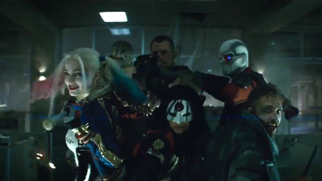 Suicide Squad: Why the hell does Batman snog Harley Quinn?