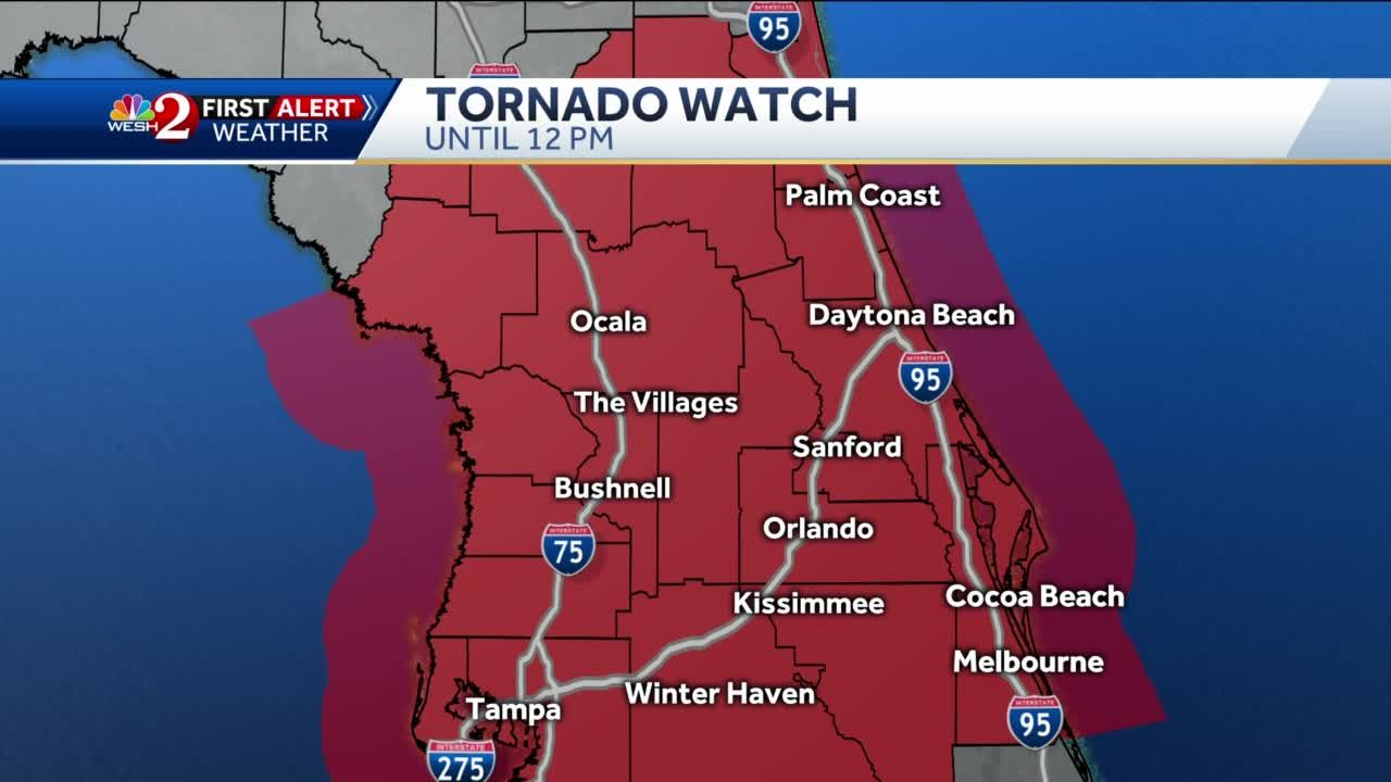 tracking nestor's central florida impacts