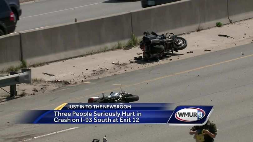 Police investigate crash that closed 93 South in Concord