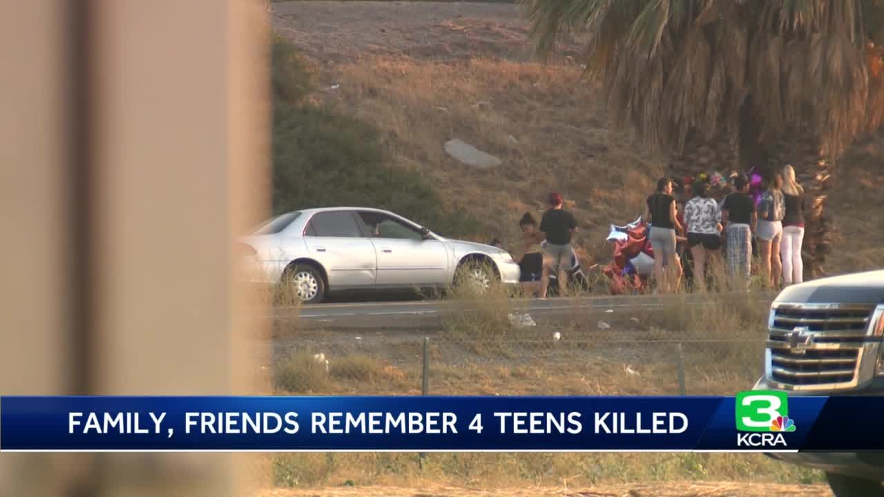 Family, friends remember teens killed in Tracy crash