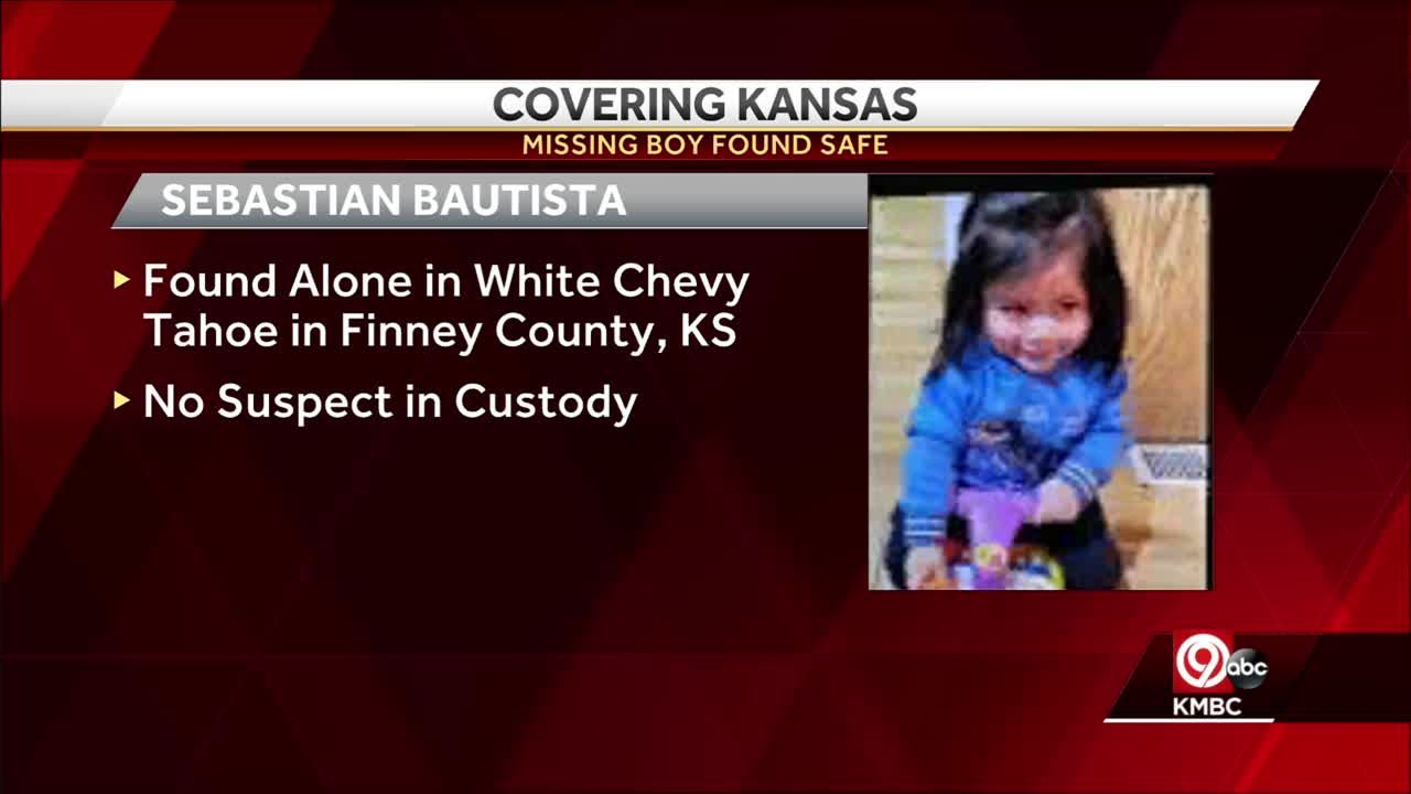 Statewide Amber Alert in Kansas canceled after toddler in stolen vehicle found safe in Finney County