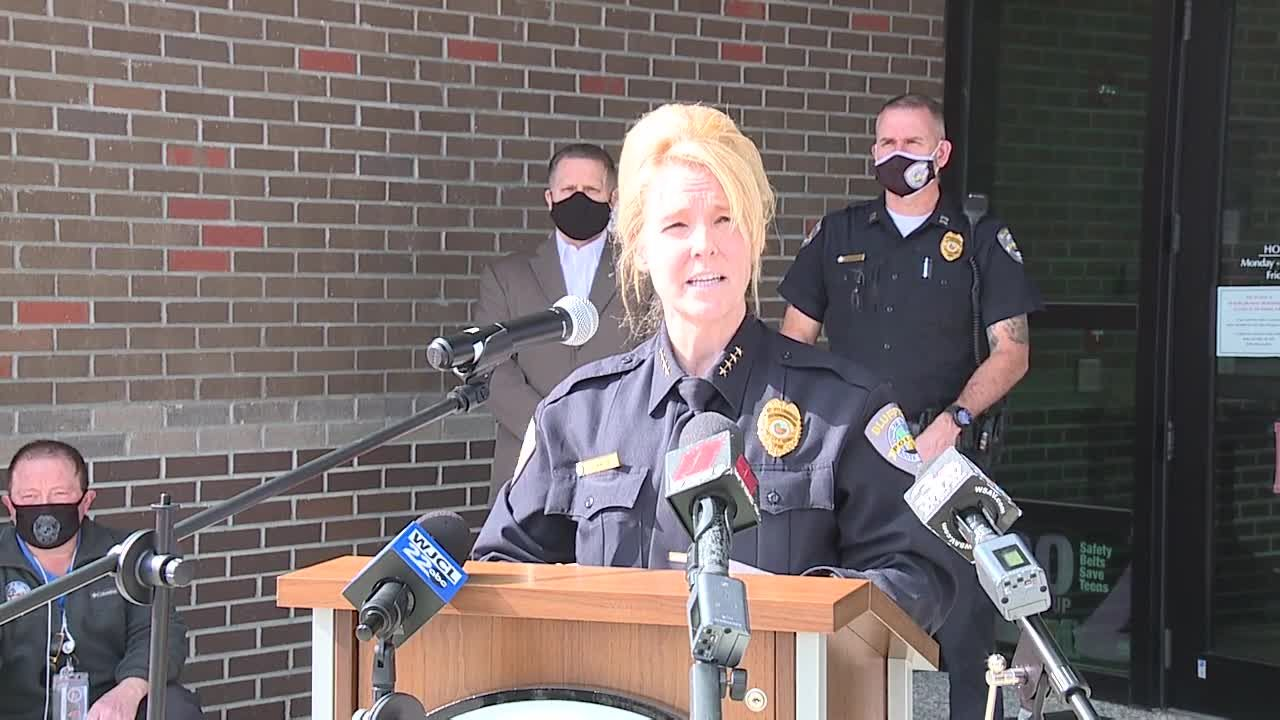 Bluffton press conference on deadly shooting