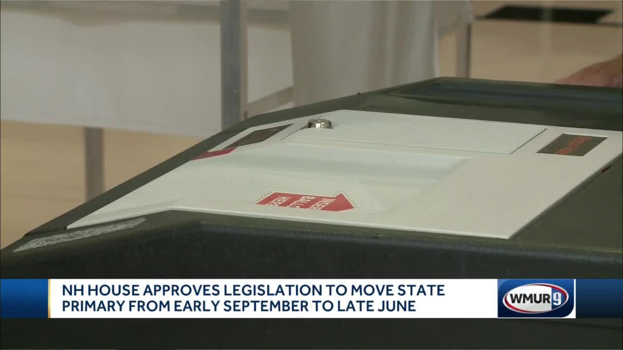NH House approves legislation to move state primary from early September to late June