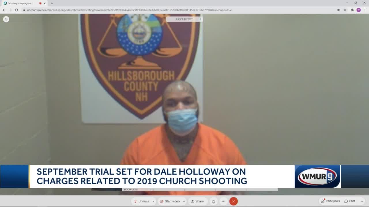 September trial set for man charged in 2019 church shooting