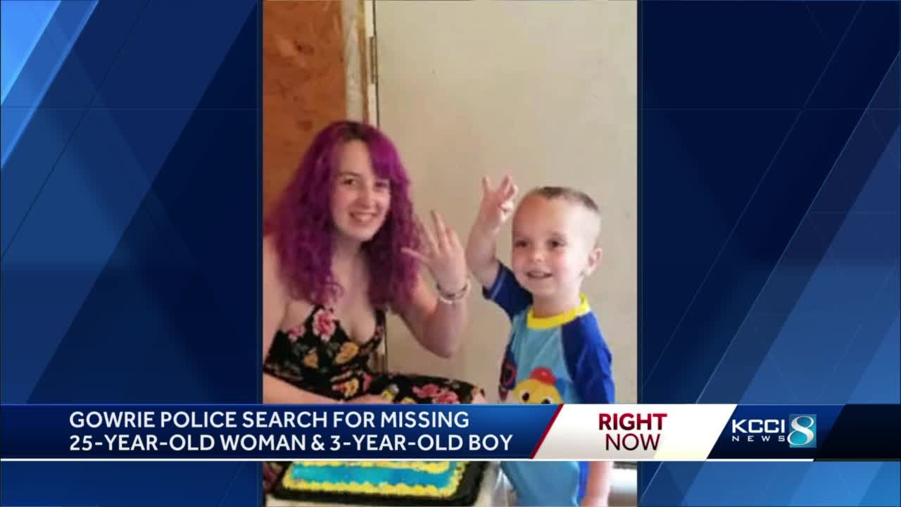 Authorities search for missing Webster County woman, child