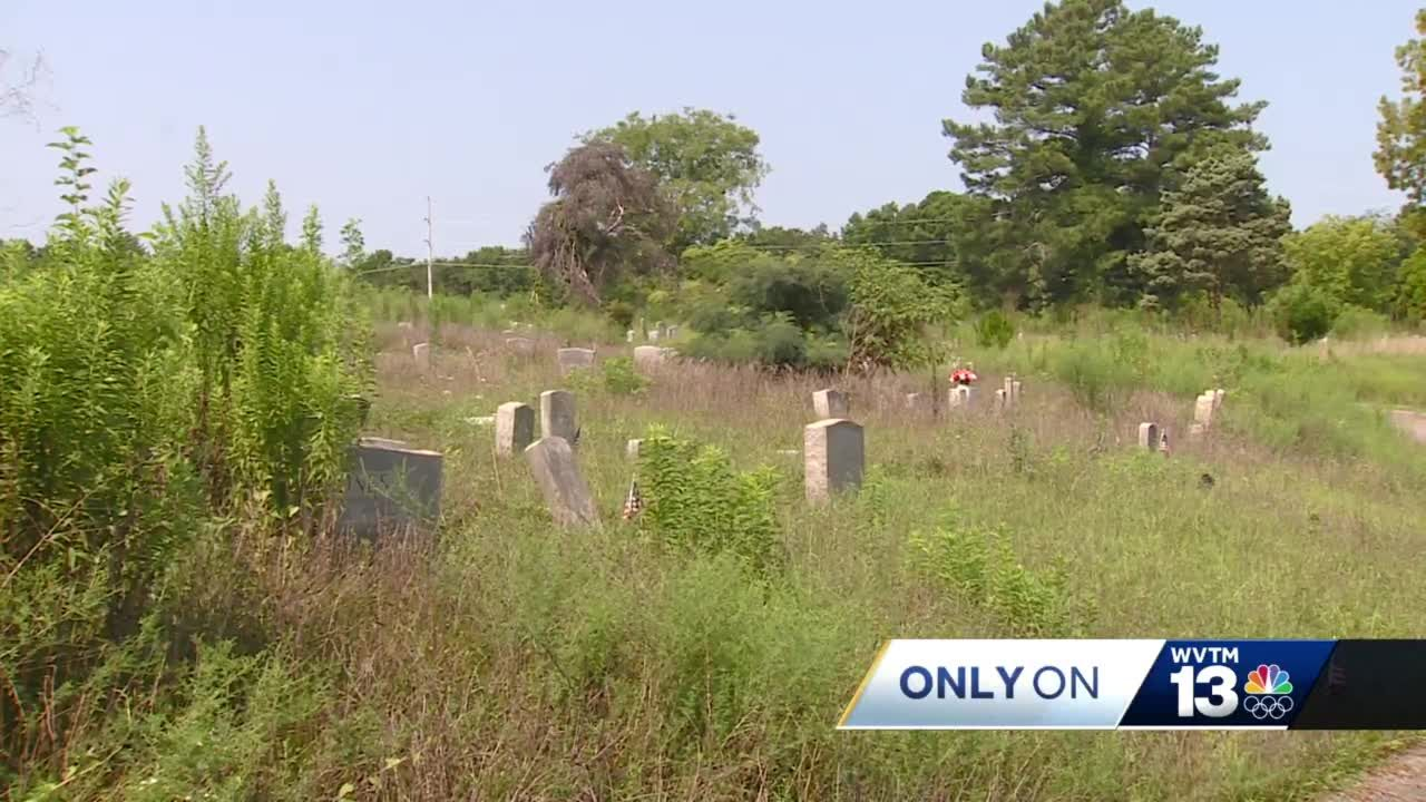 Birmingham man begins long process of cleaning up neglected cemetery