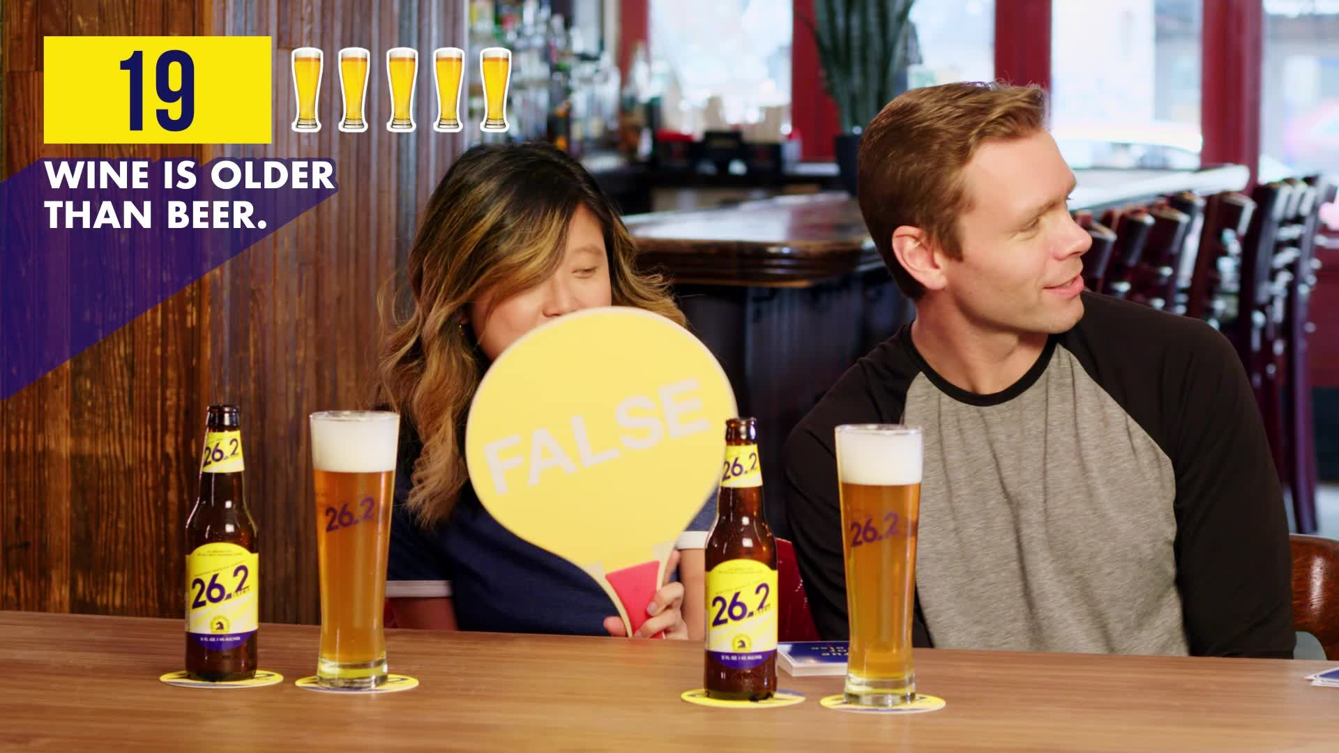 Watch Runner's World Editors Test Their Beer Knowledge Against a Master Brewer
