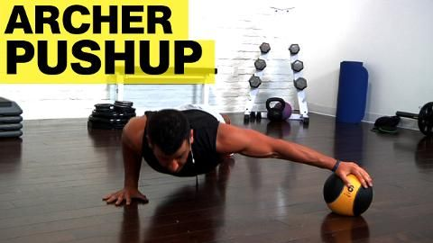 Meet the Exercise That Will Make You Strong Enough to Do One-Arm Pushups