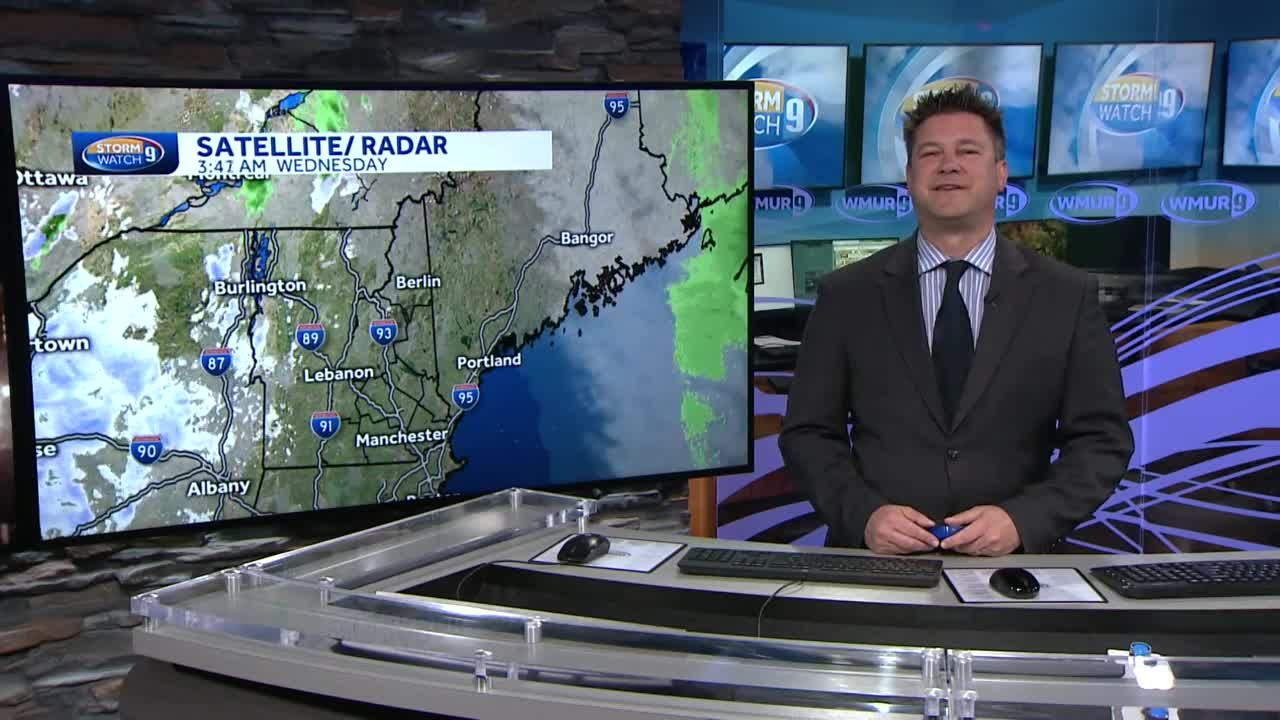Watch: Chilly start to Wednesday