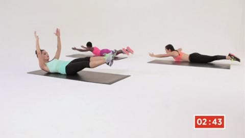 The 5-Minute No-Crunches Workout for Incredible Abs