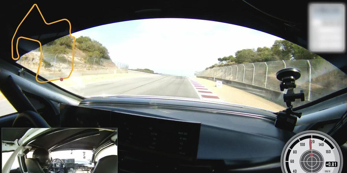 Lucid Air Practically Beats Tesla With a 1:31 Lap at Laguna Seca