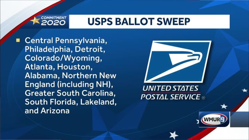 United States Postal Service fails to meet deadline set by judge to sweep facilities and deliver final mail-in ballots