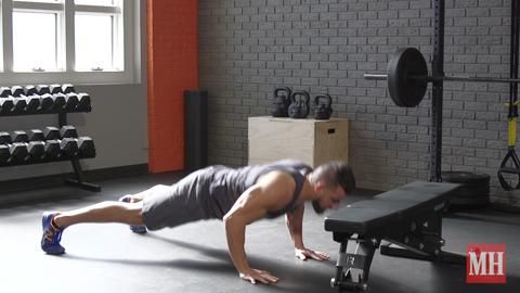 The Airborne Pushup That Will Make Your Abs Burn