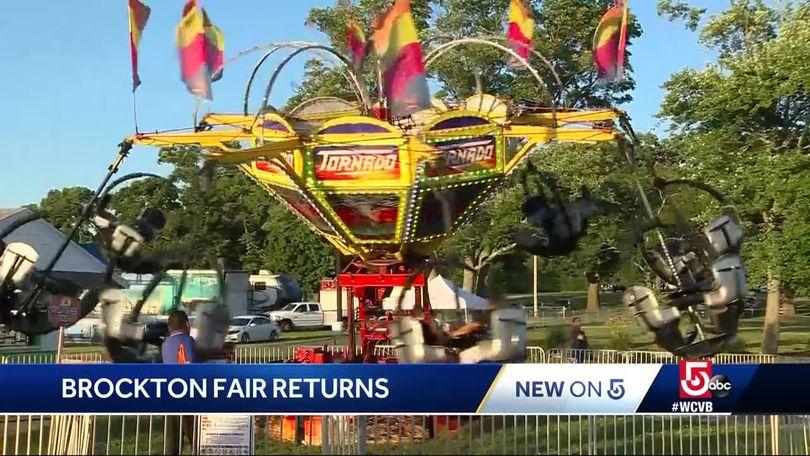 Summer tradition returns with annual Brockton Fair