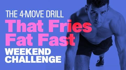 The 4-Move Drill That Fries Fat Fast