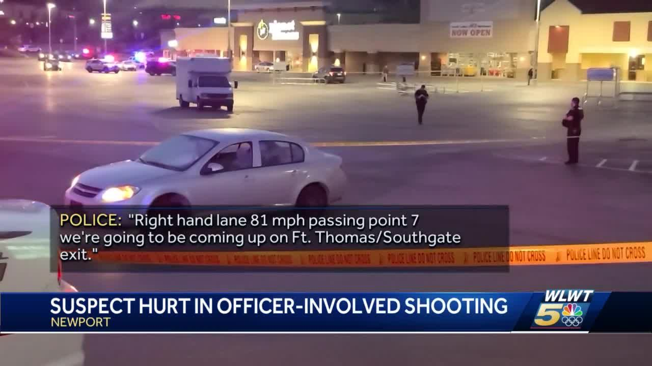 Suspect hurt in officer-involved shooting