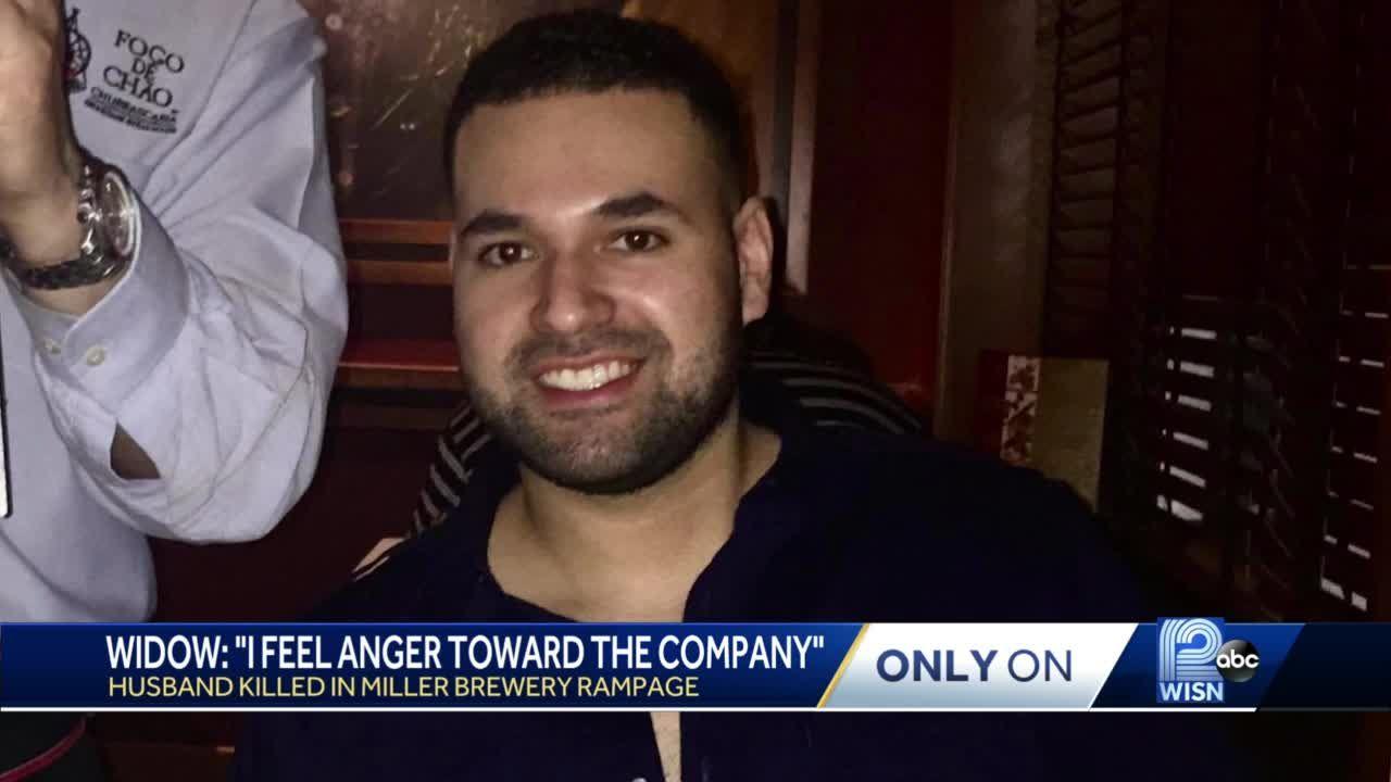 Brewery shooting widow: I feel anger toward the company