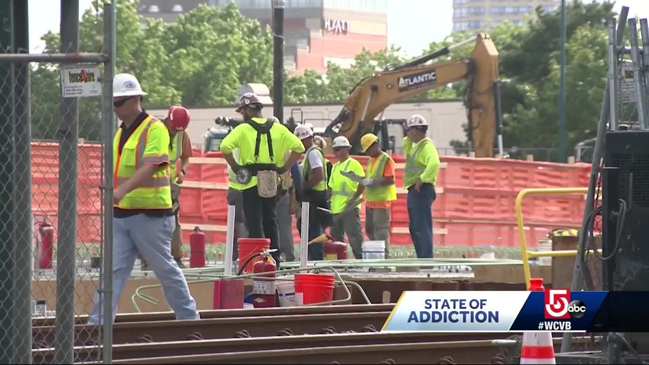 new research shows construction workers are being hit hard by opioid