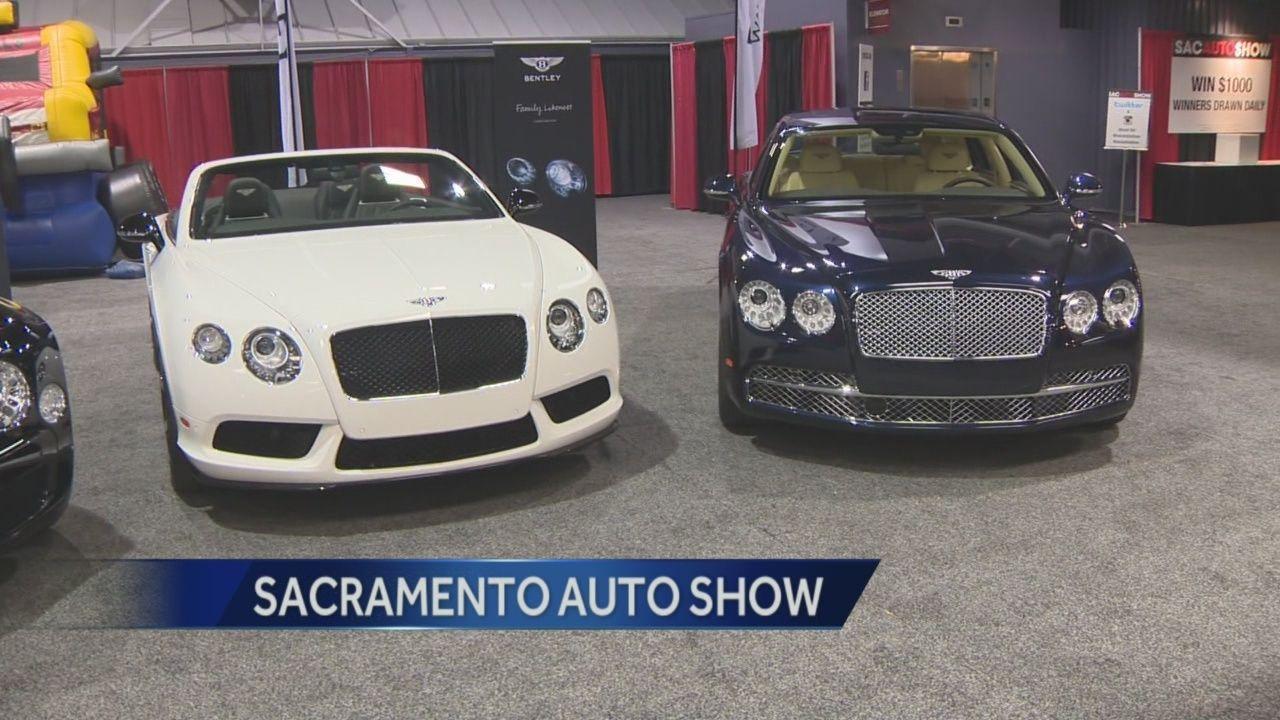 Sacramento International Car Show Reveals Brand New Cars - Car show in sacramento this weekend