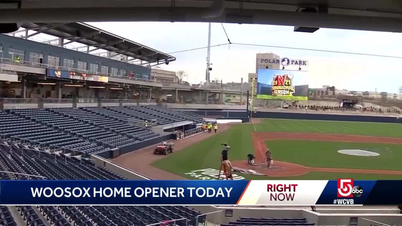 Worcester Red Sox prepare to play first home game at Polar Park