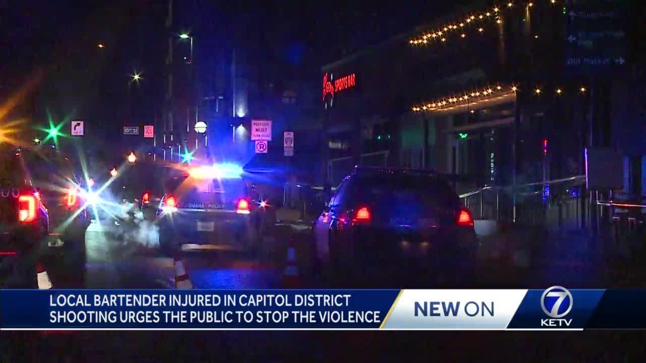 Bartender hurt in shooting near downtown bar
