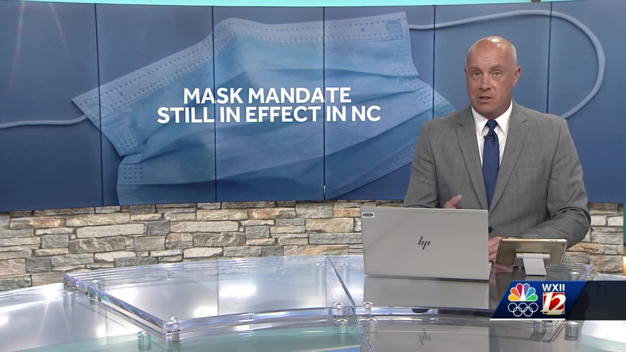 North Carolina indoor mask mandate will remain in place for now, despite CDC guidance