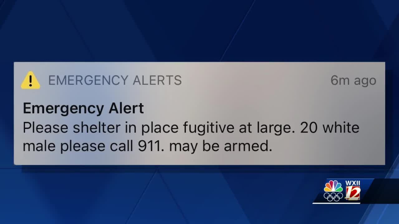Authorities sent 'fugitive at large' alert after bizarre, but frightening, break-in at family's occupied home