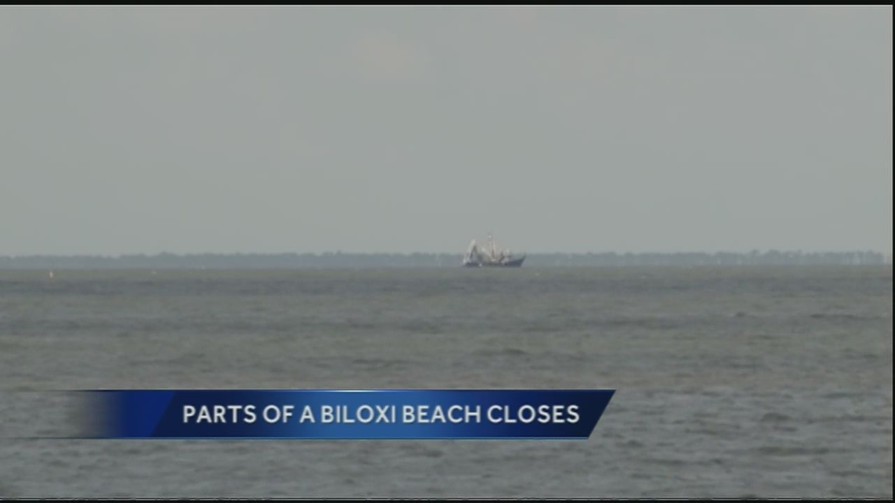 Parts Of Biloxi Beach Closes