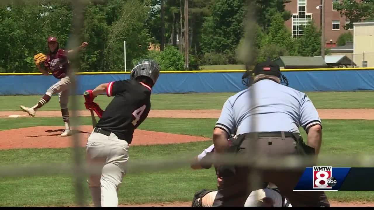 High school underclassmen baseball all star game held at St. Joe's
