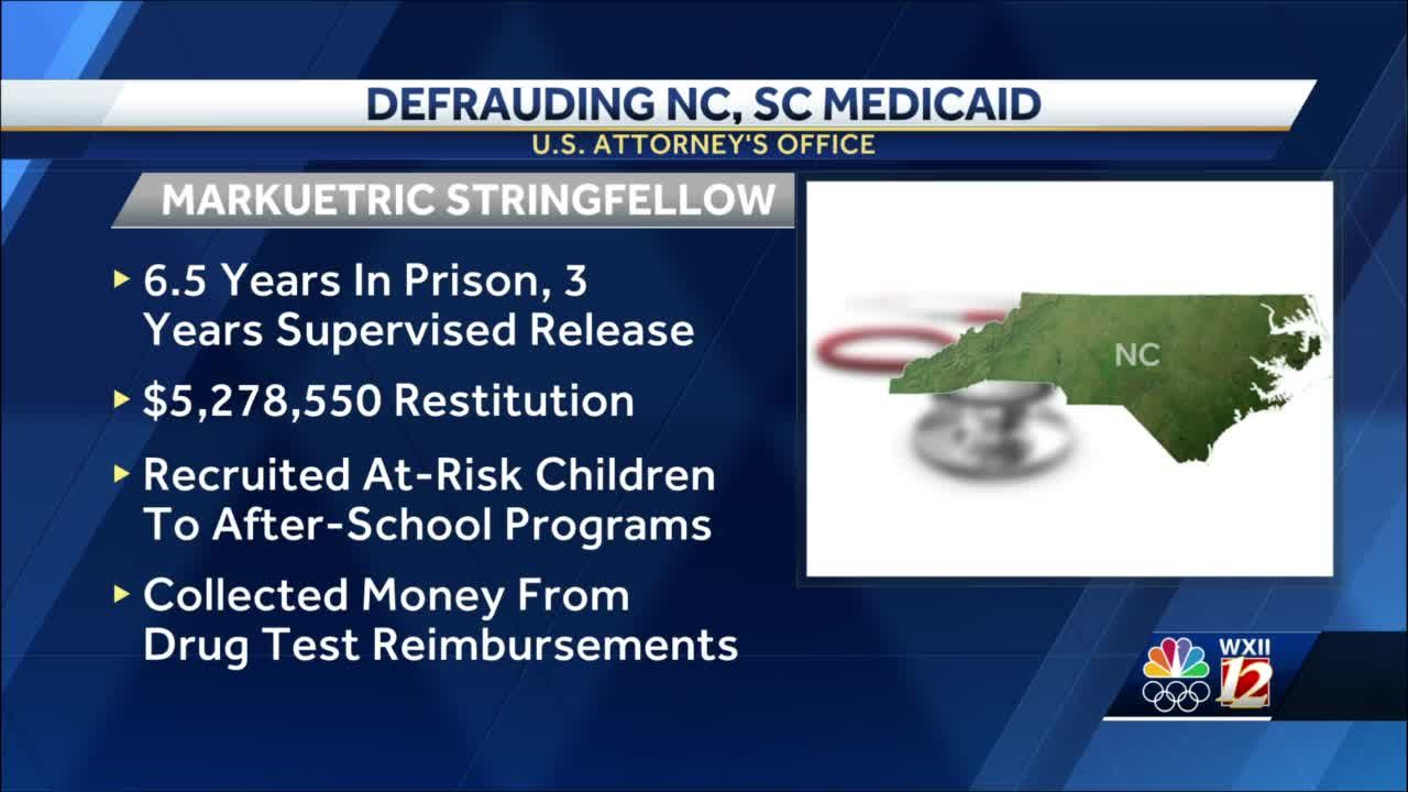 Georgia man to pay $5M in restitution for defrauding North and South Carolina Medicaid programs
