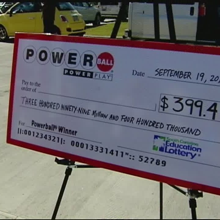 400 Million Winning Powerball Ticket Sold In South Carolina