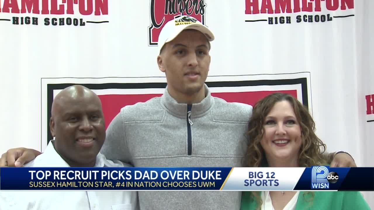Top Recruit Picks Dad Over Duke