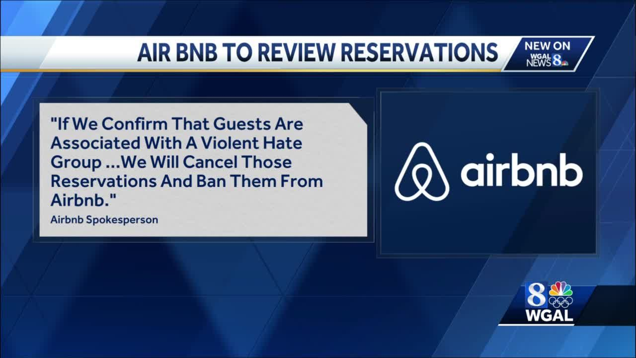Airbnb reviewing reservations in Harrisburg following threats to state capitals