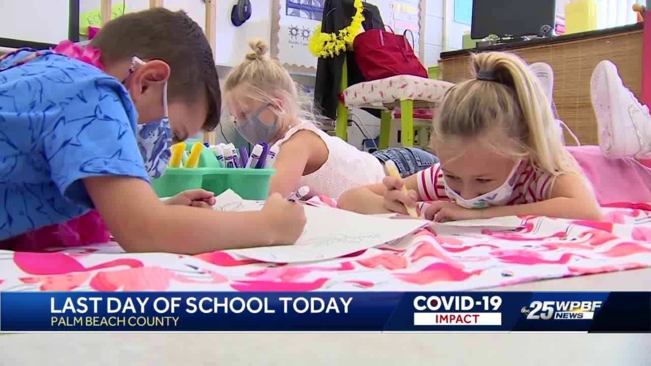 Palm Beach County schools celebrate last day of school