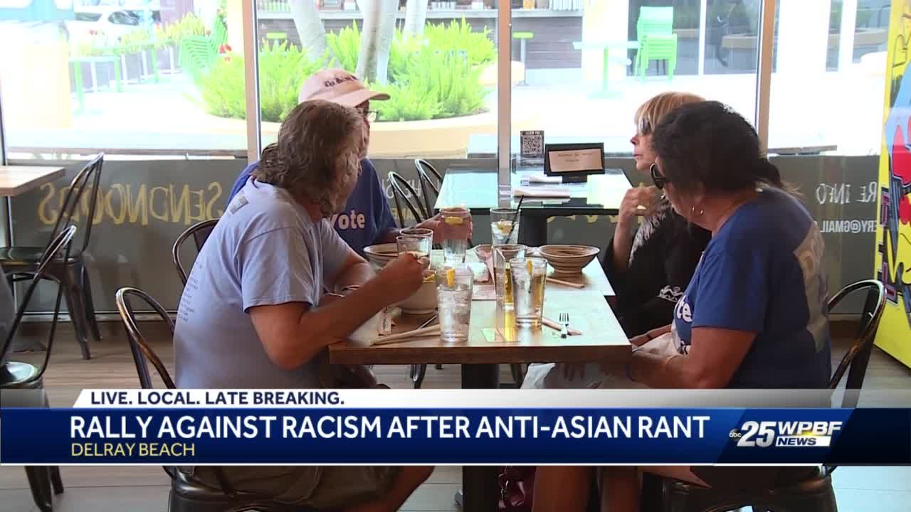 Community shows support for restaurant owner who was victim of racist verbal attack